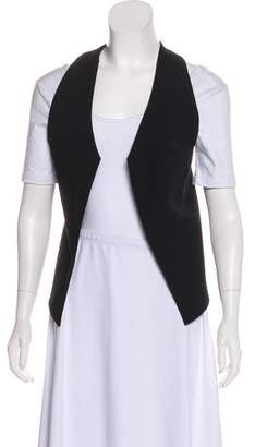 Helmut Lang Asymmetrical Open-Front Vest