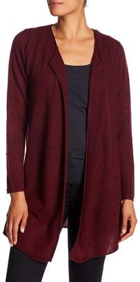 Magaschoni M BY Bottom Seam Cashmere Cardigan
