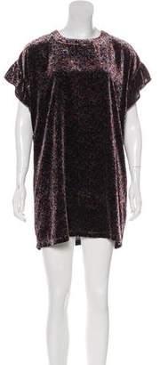 Current/Elliott Janie Velvet Mini Dress w/ Tags