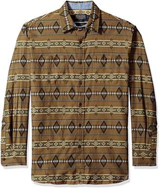 Pendleton Men's Long Sleeve Button Front Classic-fit Kyler Archive Shirt