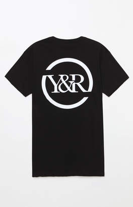 Young & Reckless Circle Up Black & White T-Shirt