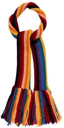 Marc Jacobs Knit Fringe Scarf
