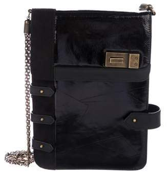 Proenza Schouler Patent Leather Shoulder Bag Black Patent Leather Shoulder Bag