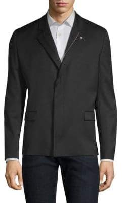 HUGO Ulrico Zipper Lapel Jacket