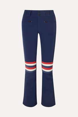 Perfect Moment - Aurora Flare Striped Ski Pants - Navy