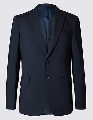 M&S Collection Big & Tall Navy Slim Fit Jacket