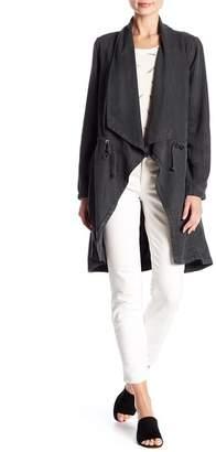 Max Jeans Drape Front Jacket