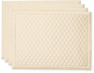 Ann Gish Quilted Taffeta Placemats (Set of 4)