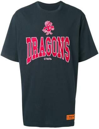 Heron Preston print T-shirt
