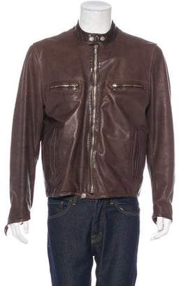 Paul Smith Leather Jacket