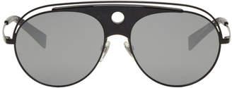 Oliver Peoples pour Alain Mikli Black Toujours Aviator Sunglasses