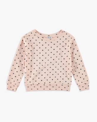 Splendid Girl Dot Print Sweater