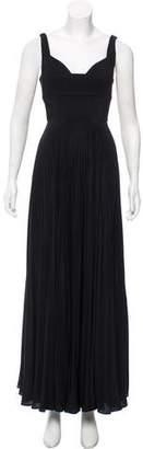 A.L.C. Pleated Maxi Dress