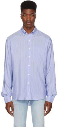 Faith Connexion Blue Striped Shirt