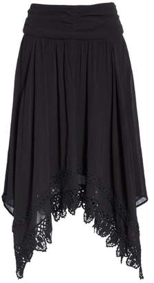 Etoile Isabel Marant Rodney Handkerchief Hem Skirt