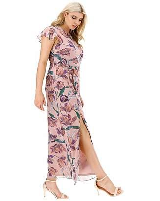 09fbfa6c7417 Lovedrobe Floral Print Column Maxi Dress