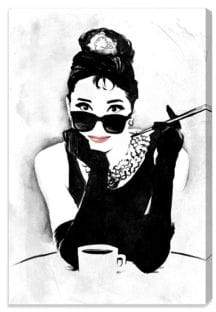 Oliver Gal The Look Of A Lady Canvas Art