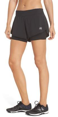 New Balance Impact Layered Running Shorts