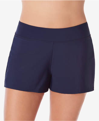 Swim Solutions Pull-On Board Shorts, Created for Macy's Women's Swimsuit