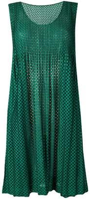 Pleats Please Issey Miyake printed sleeveless dress