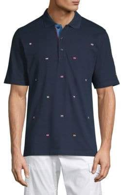 Paul & Shark Embroidered Flag Polo