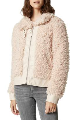 Blank NYC BLANKNYC Curly Faux Shearling Jacket