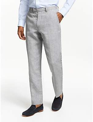 8807f9bbf42e John Lewis   Partners Linen Regular Fit Suit Trousers