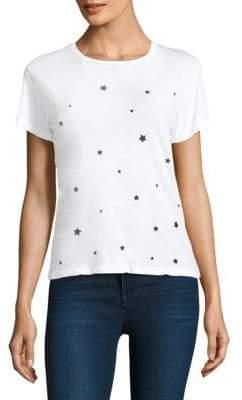 Monrow Stardust Cotton Tee Shirt