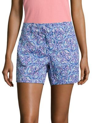 Vineyard Vines Sand Dollar-Print Shorts $88 thestylecure.com