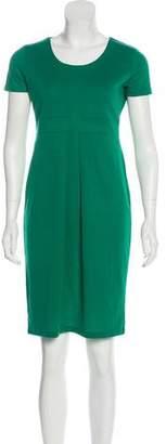 HUGO BOSS Hugo by Short Sleeve Midi Dress