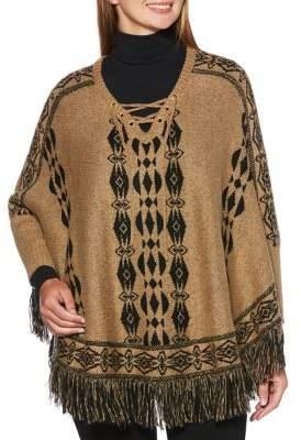 Rafaella Weekend Fringe Sweater