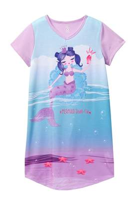 Petit Lem Mermaid Nightgown (Big Girls)