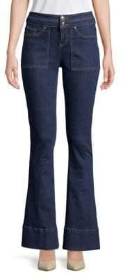 Marina Rinaldi Ashley Graham x Super Stretch Flared Jeans