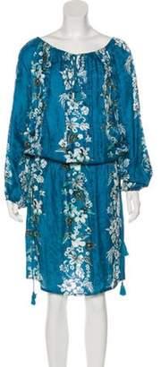 Jean Paul Gaultier Printed Knee-Length Dress multicolor Printed Knee-Length Dress