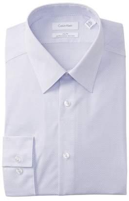 Calvin Klein Geneva Point Slim Fit Dress Shirt