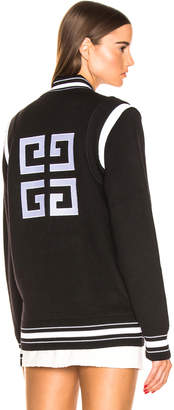 Givenchy Varsity Jacket in Black & White | FWRD