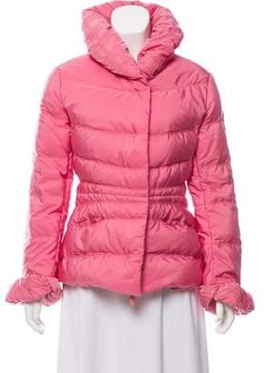 Ermanno Scervino Shawl Collar Puffer Coat