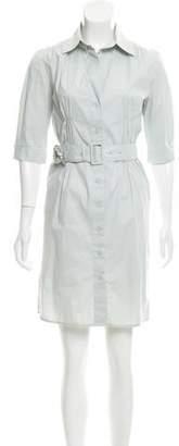 Schumacher Belted Mini Dress