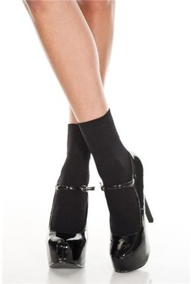 Music Legs Opaque anklet 512-BLACK