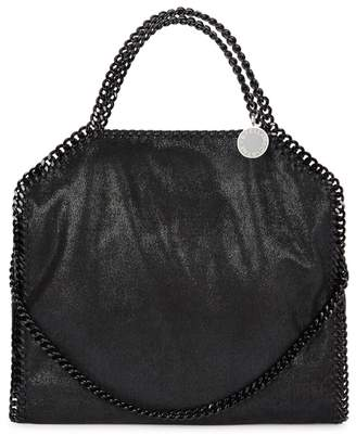 Stella McCartney Falabella Black Faux Suede Tote
