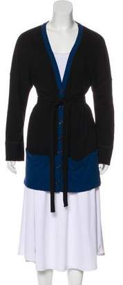Sonia Rykiel Button-Up Knit Cardigan