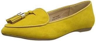 New Look 915 Girls Letty Closed Toe Ballet Flats (Bright Yellow 85), (39 EU)