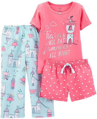 Carter's 3-pc. Pant Pajama Set Girls