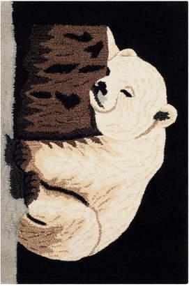 Safavieh Kids Polar Bear Hand-Tufted Rug