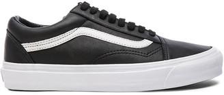 Vans OG Leather Old Skool LX in Black | FWRD