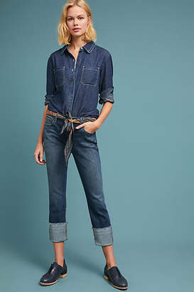 Level 99 Morgan High-Rise Slouchy Straight Jeans