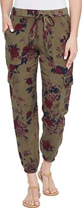 Lucky Brand Women's Printed Cargo Pant