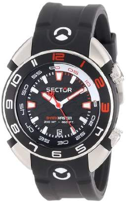 Sector Men's R3251178225 Marine Shark Master Analog Stainless Steel Watch