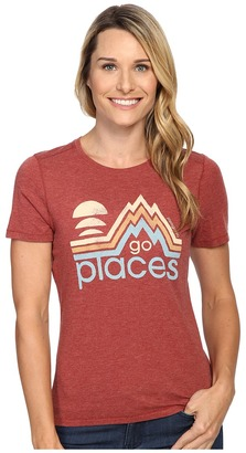 Life is good Go Places Mountains Cool Tee $28 thestylecure.com