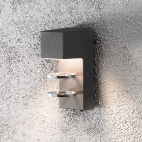 Acerra - schicke LED-Außenwandleuchte, anthrazit